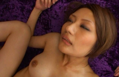 Rina Fujimoto Asian babe gets her pussy drilled with vibrators