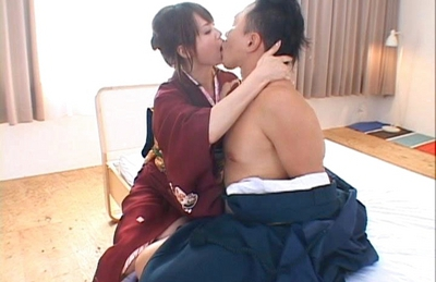 Akiho Yoshizawa Asian hottie gets a hard fucking in different positions