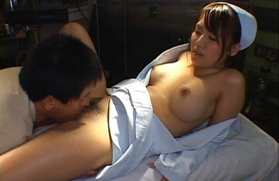 Hot Japanese nurse gets a hard fucking