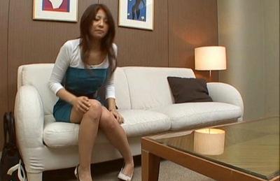 Aiku Morikawa Asian office chick gets fucked