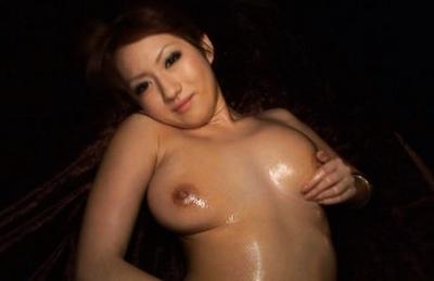 Reon Otowa Pretty Asian doll in sexy black stockings enjoys a hot fucking