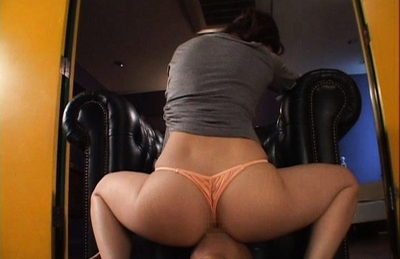 Minori Hatsune Asian model in sexy lingerie has a perfect round ass