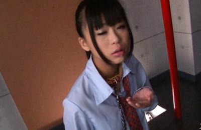 Chika Ishihara Lovely Japanese model gives amazing head