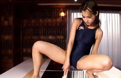 Maria Ozawa Lovely Asian model teases her pussy with a dildo