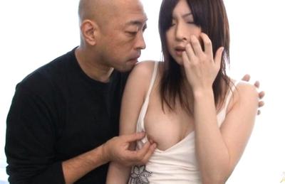 Riko Oshima Lovely Asian babe who enjoys lots of fucking