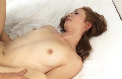 Shiori Ayase Lovely Japanese doll is fucked by two guys