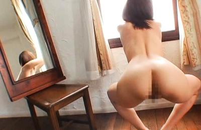 Yuma Asami Hot Asian doll enjoys showing off her hot ass