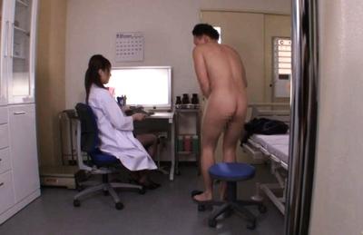 Tsubasa Amami Asian model is a naughty female doctor