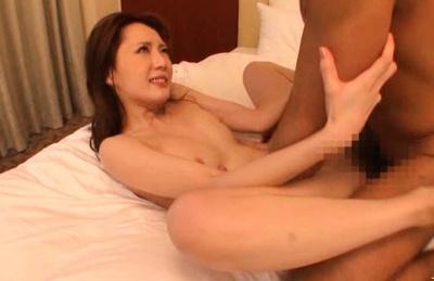 Kaede Fuyutsuki Asian model is fucked hard from behind
