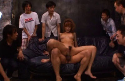 Kirara Asuka Asian model fucks two horny guys
