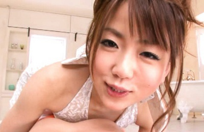 Saki Ninomiya has a hardcore fucking session