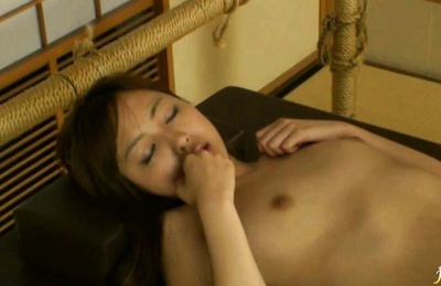 Hinata Komine gets massaged and fingered by a horny babe Anri Hoshizaki.