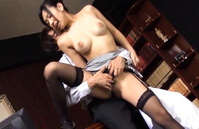 Unbelievable Nana Ogura foot job and hard fucking