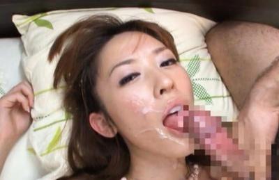 Chihiro hara gives a good handjob 7