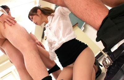 English tutor sucks and fucks my big dick 10
