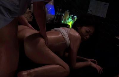 Hot milf Nishi Azabu masturbation and hard rear fucking