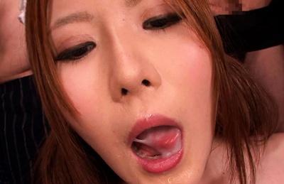 nishina momoka bukkake mouth Nurse cum