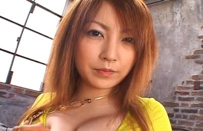 Kaede Matsushima Hot Japanese babe Enjoys Her Big Pussy Toys