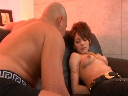 Tina Yuzuki Hot Asian Babe Gets Covered In Oil