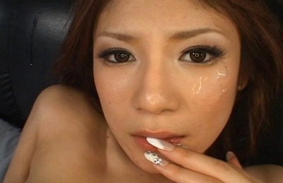 Natsu Ando Naughty Asian maid gets her pussy licked