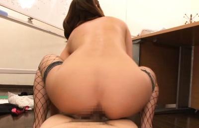 Breathtaking cock sucking by Miku Hasegawa