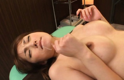 Lustful Japanese milf Tsubasa Amami fucked by horny masseur
