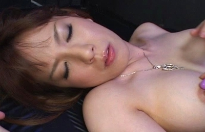 Ryo Tsujimoto Naughty Asian model enjoys getting a hard fucking