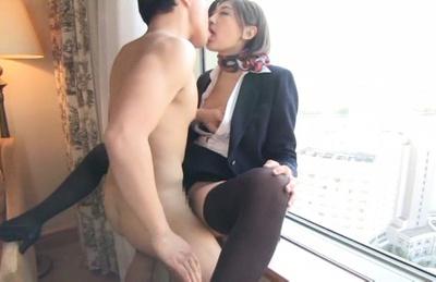 Sexy cock teaser Yuna Shiratori gets hardcore pleasure