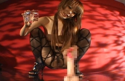Aya Fujimoto Sexy Asian model passes her time with her dildo