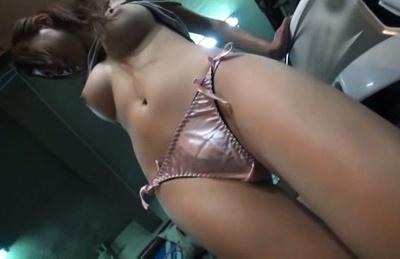 Flawless Asian milf Nami Aino enjoys rear fucking gets a facial