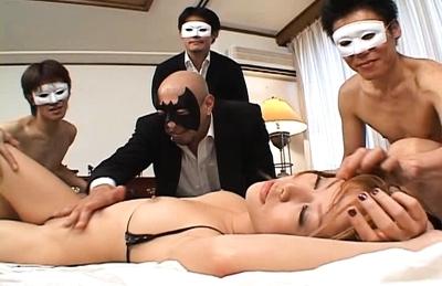 Akane Hotaru Naughty Asian model enjoys fucking in all positions