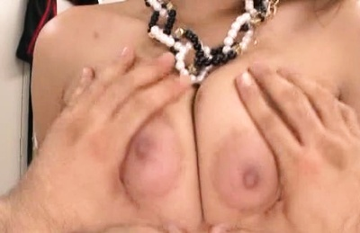 Big tit Japanese milf Riona Kamijyou getting hardcore pounding in POV