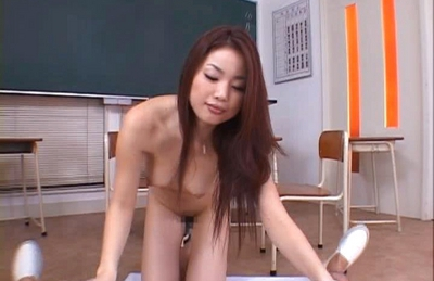 Risa Kasumi Asian babe gets her sexy body fondled before a fucking