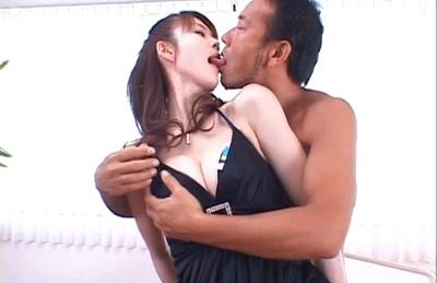 Erika Kirihara Hot Asian doll gets fucked in all her holes