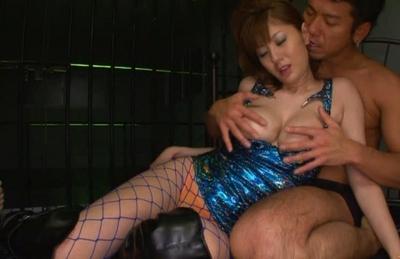 Yuma Asami gets fucked in jail