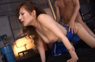 Marika Locely Asian model gets her hairy pussy poked